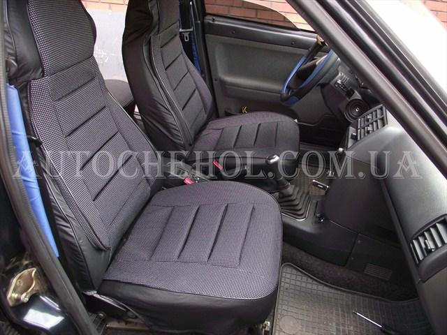Купить Серые чехлы на сиденья ВАЗ 2111 , пилот, Производитель GD42